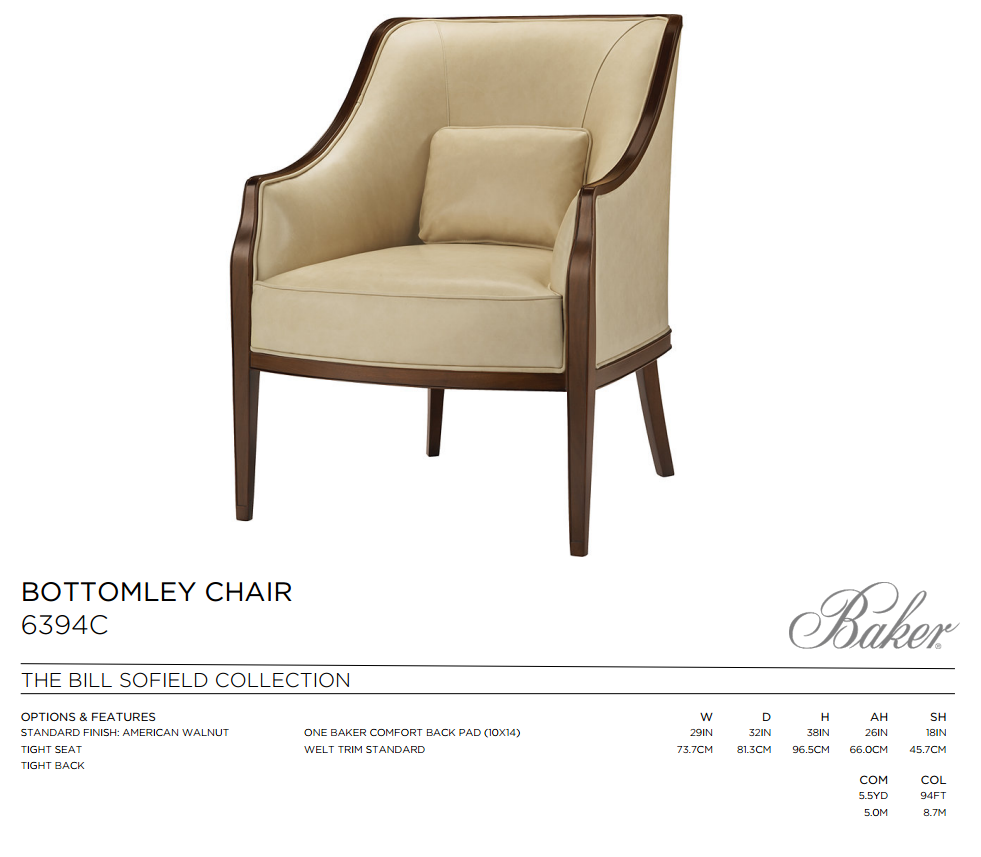6394C BOTTOMLEY CHAIR