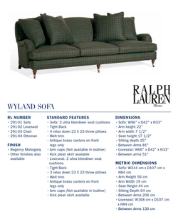 291-01  wyland sofa