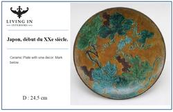 ceramic plate japon