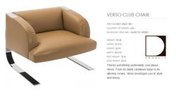 05231-001 VERSO CLUB CHAIR