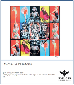 Marylin Encre de chine