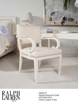 30000-27  Mayfair Dining Arm Chair