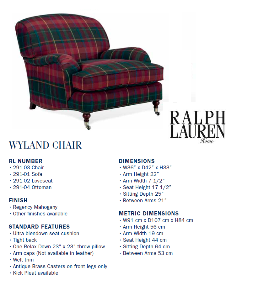291-03 wyland chair