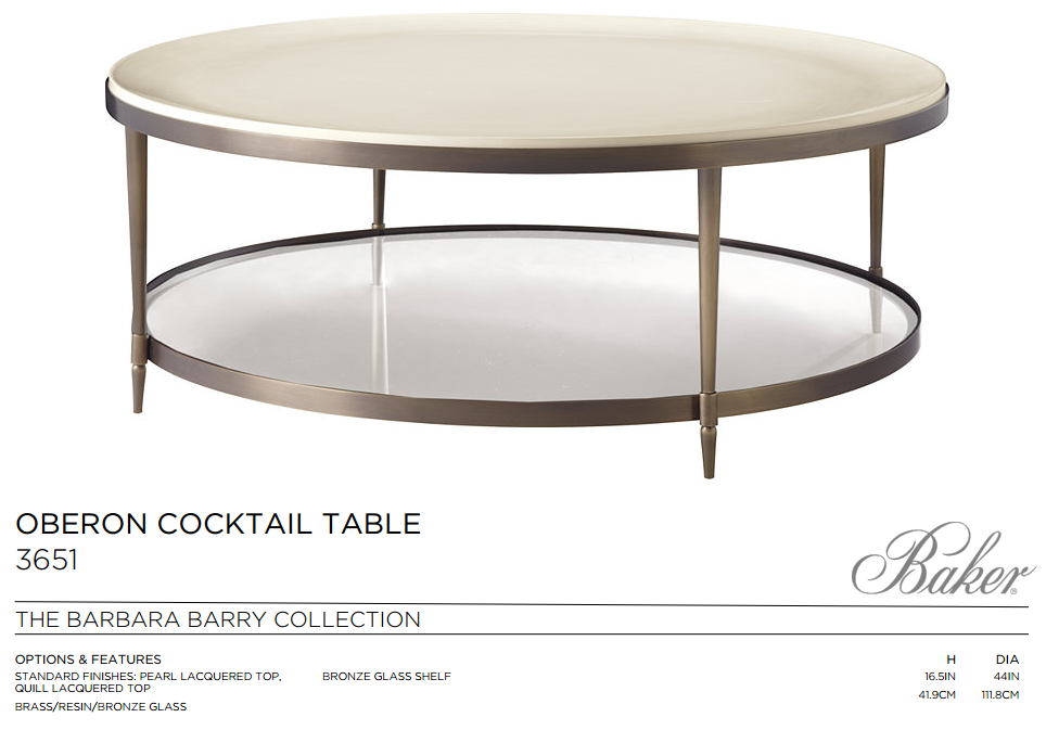 3651 OBERON COCKTAIL TABLE