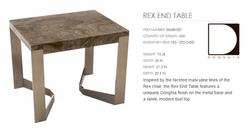 06688-001 REX END TABLE