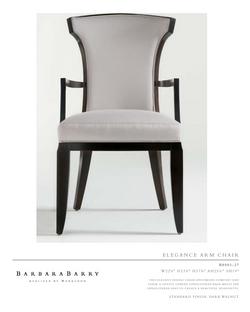 B8003-27 eleganCe arM Chair