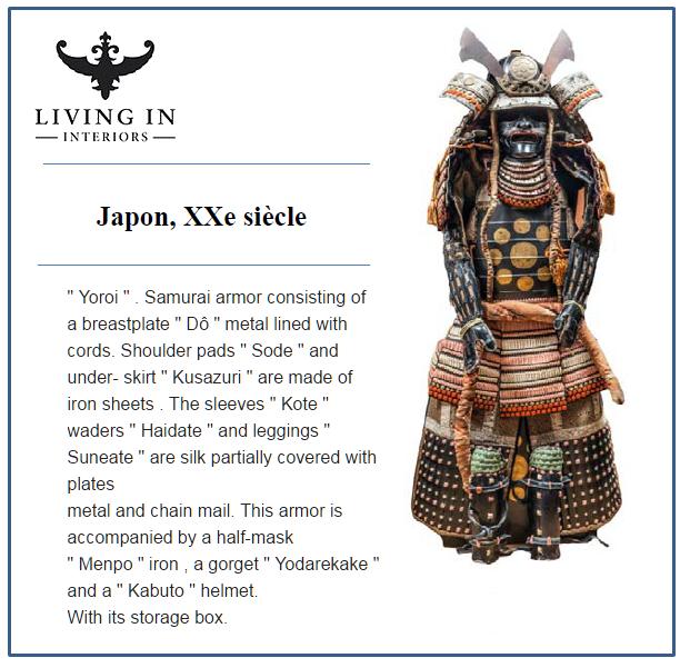 yoroi samurai japon
