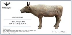 000986-1149 HAN COW CLAY
