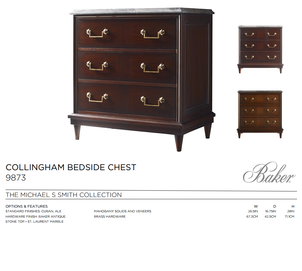 9873 COLLINGHAM BEDSIDE CHEST