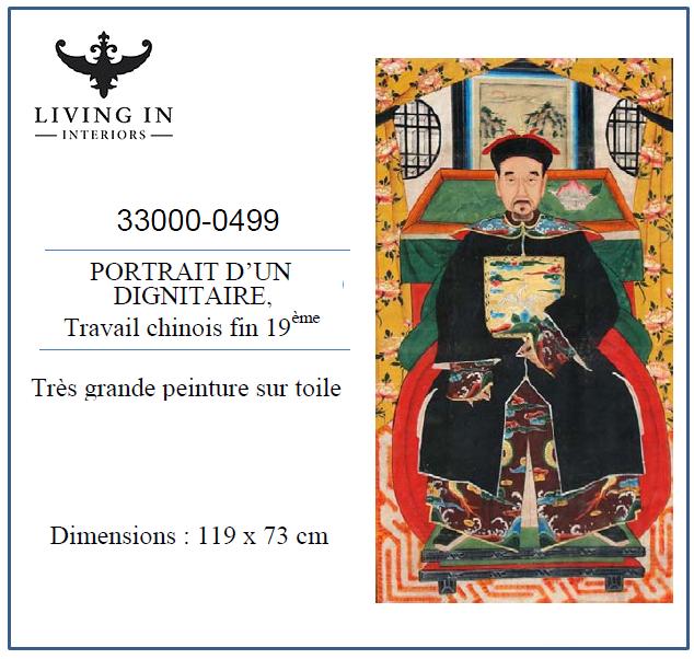 33000-0499_Ecole_chinoise_19ème_-_Le_dignitaire