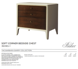 3608G-1 SOFT CORNER BEDSIDE CHEST