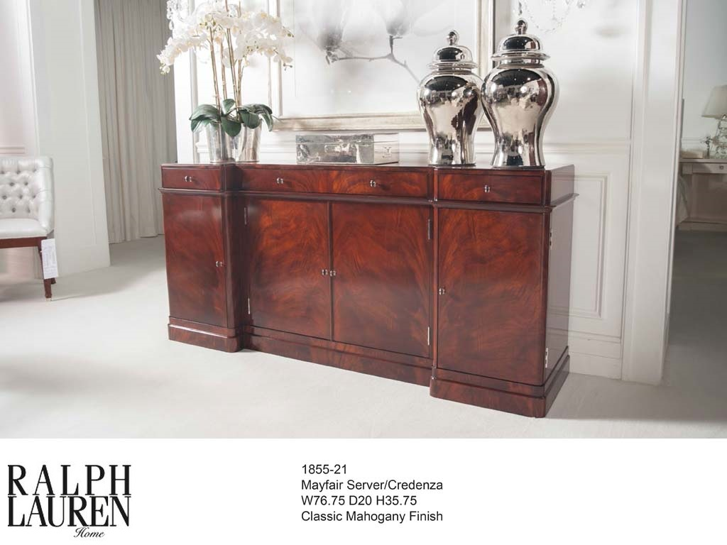 1855-21 MAYFAIR SERVER CREDENZA