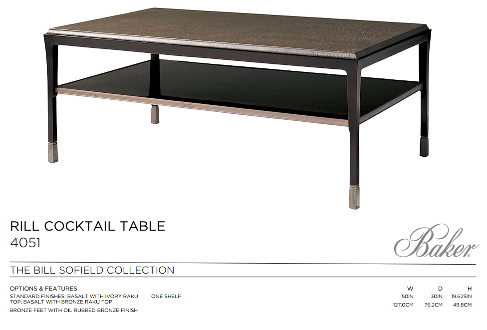 4051 RILL COCKTAIL TABLE