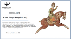 000986-1154 TANG Joueuse de polo