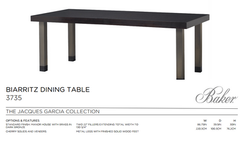 3735 BIARRITZ DINING TABLE