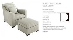 50422-001 BOND STREET COUPE CLUB CHAIR