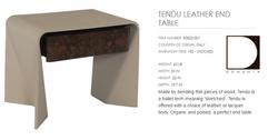 60822-001 TENDU LEATHER END