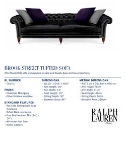 751-01  Brook Street Tufted Sofa