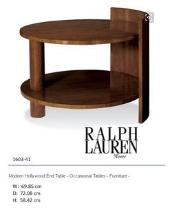 1603-41 Modern Hollywood End Table