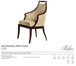 3743 MALMAISON ARM CHAIR