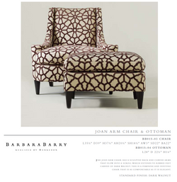 BB015-03 cHAiR  j oan arM Chair & o TToMan
