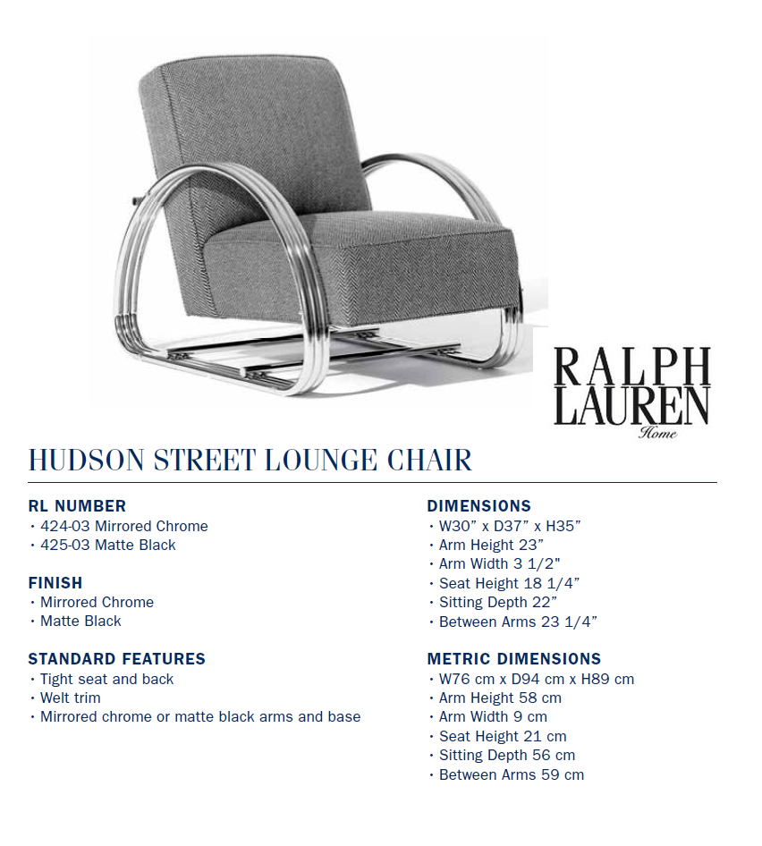 424-03  hudson street lounge chair