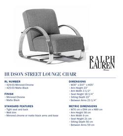 424-03  hudson street lounge chair
