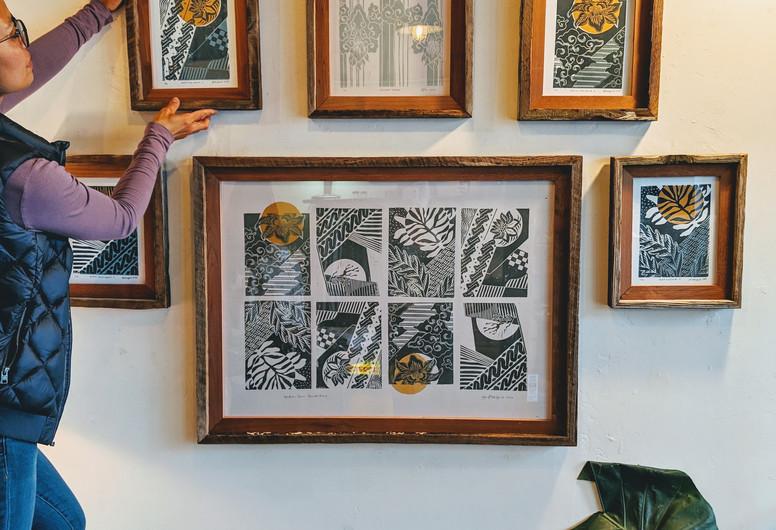 Batik Sun Series