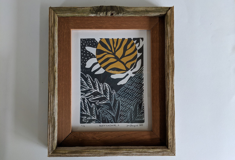 """Batik Sun Series 4"""