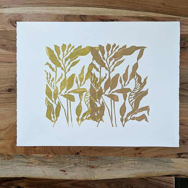 Duo Kelp in Gold and Copper to celebrate