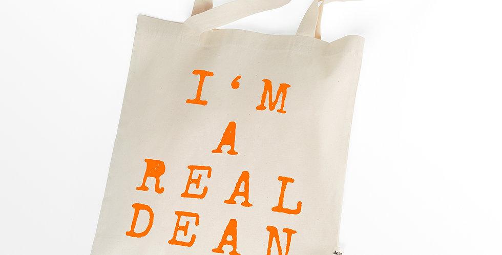 Canvas Bag: I'm A Real Dean