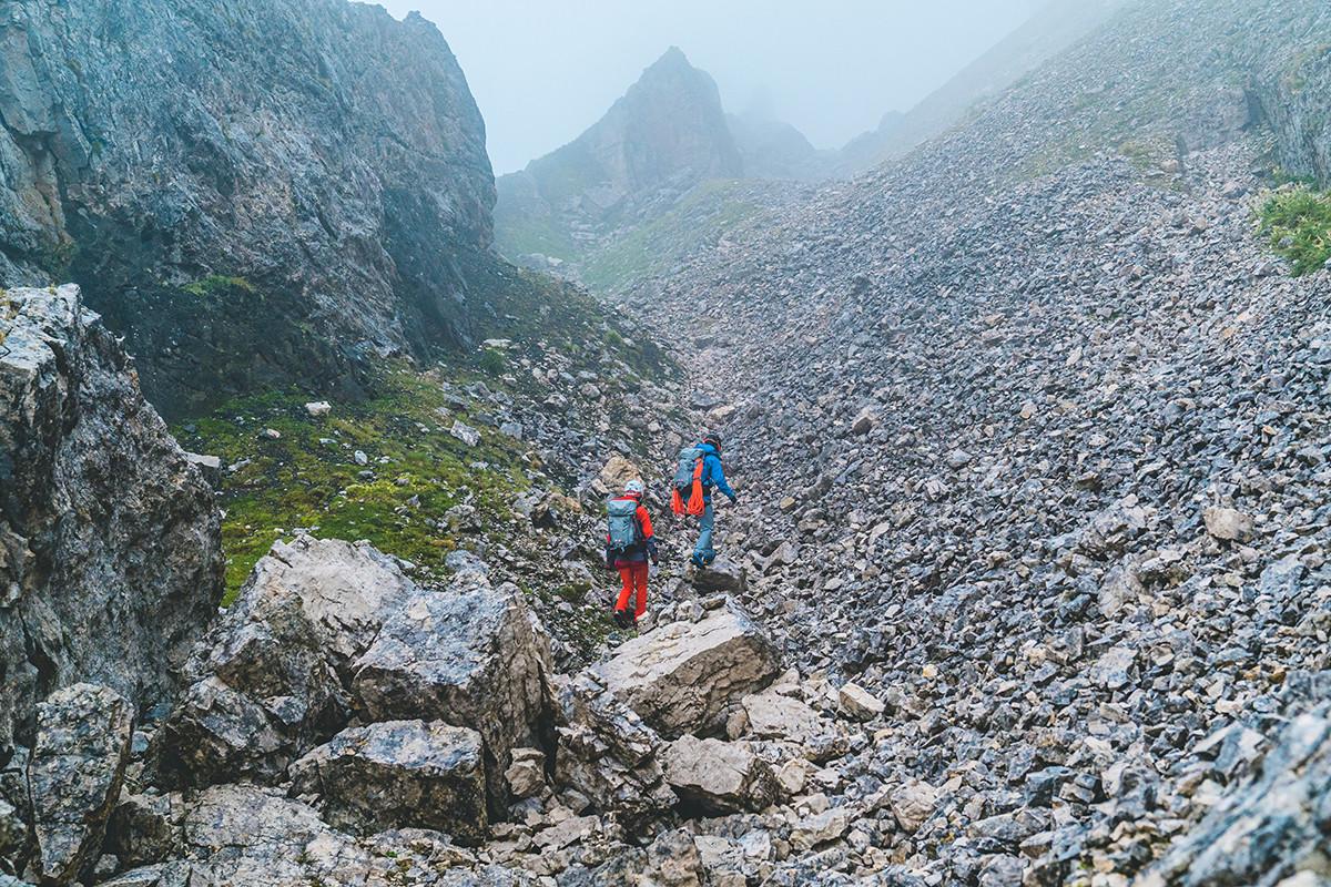 MATT Sommer Mammut Paar bergsteigen