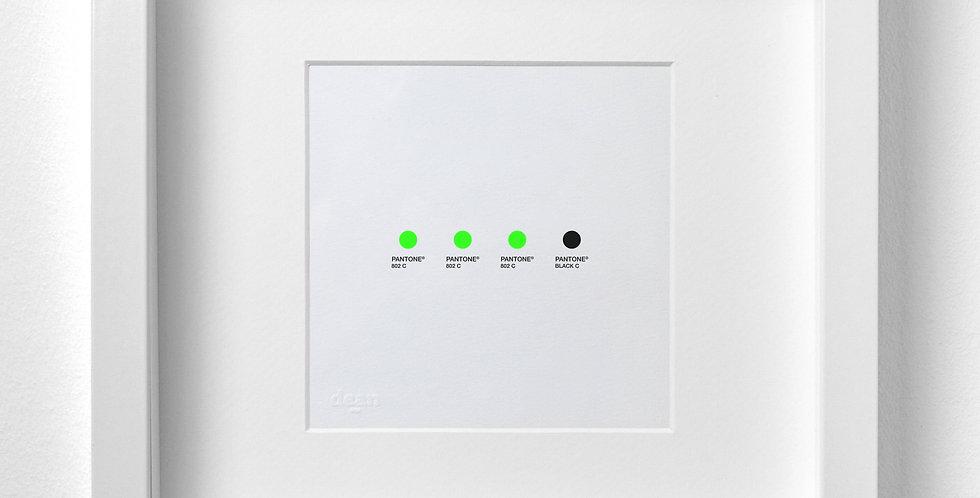 Edition Pantone Green Mamba