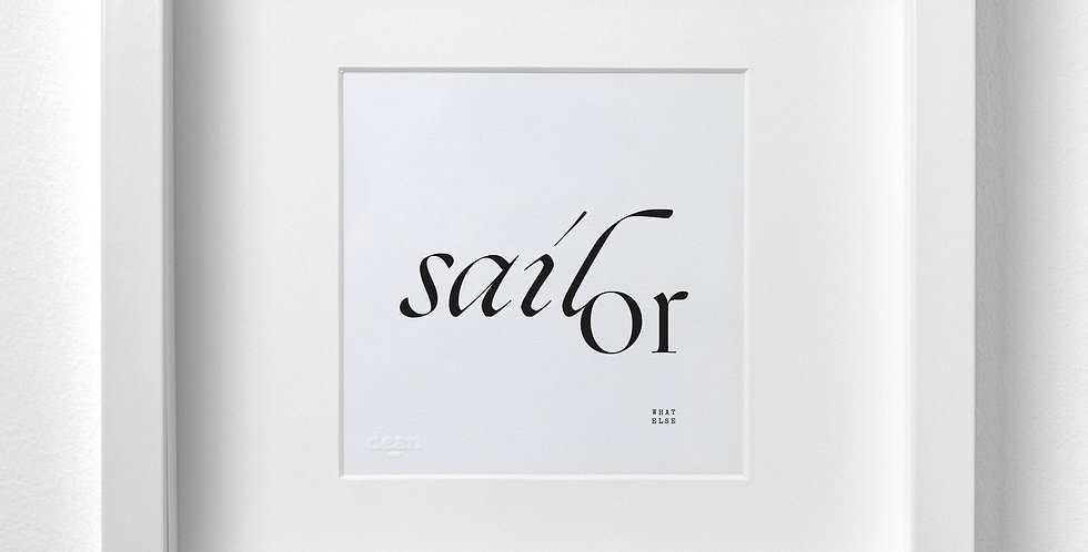 Sailor What Else?