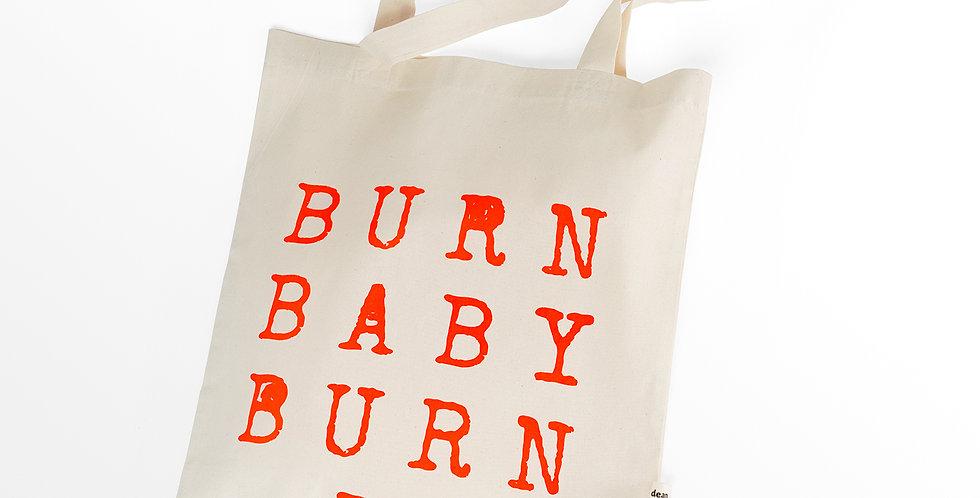 Canvas Bag / Burn Baby Burn