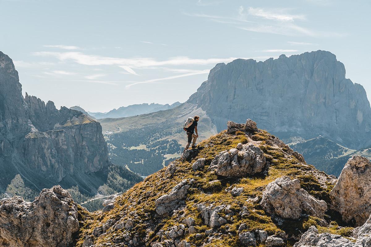 MATT Sommer Mammut Mann bergsteigen