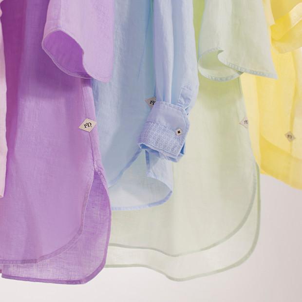 MATT Sommer Fil Noir Damen Blusen verschiedene Farben