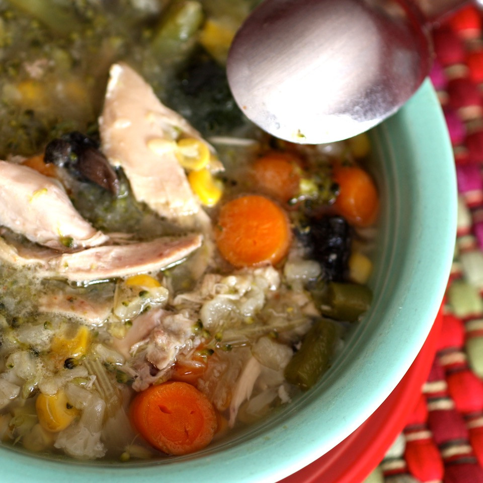 Secret Weight-Loss Weapon Chicken Vegetable Soup