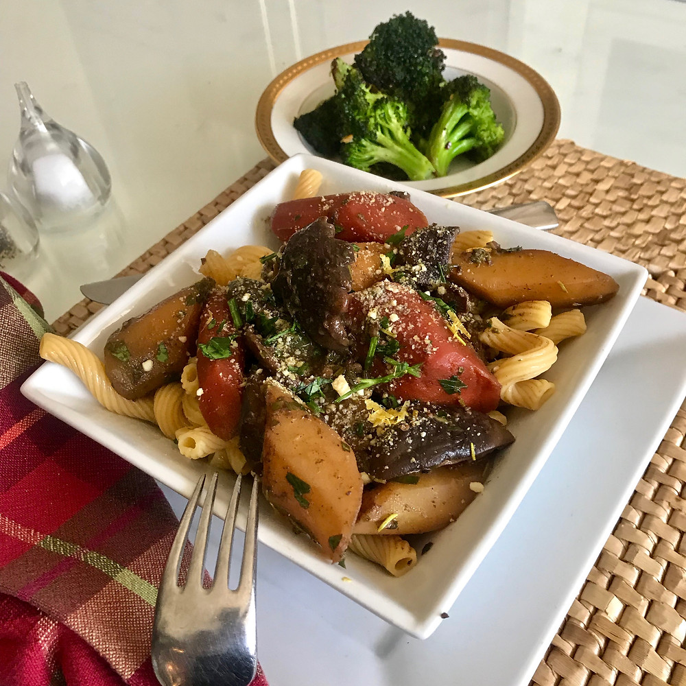 Vegan Mushroom & Carrot Osso Bucco