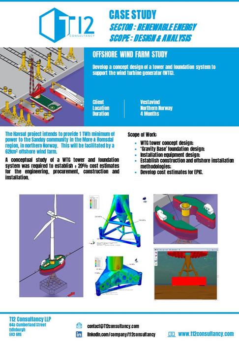 Vestavind Windfarm Study