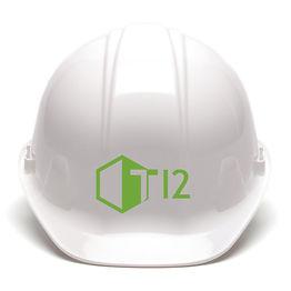 T Twelve Green Hard Hat