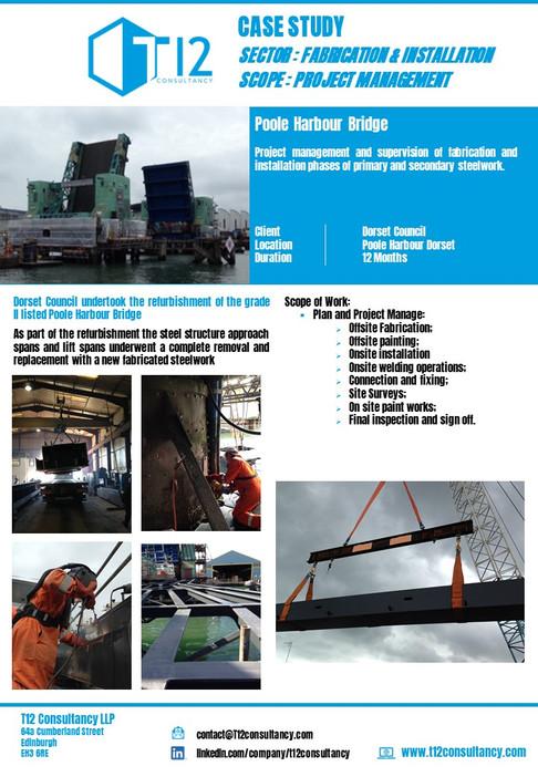 Poole Harbour Bridge Refurbishment