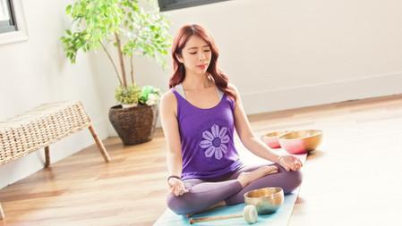 共振體內頻率  清空雜念沉靜身心靈 - 特殊兒童瑜伽導師及頌缽音療師Irene