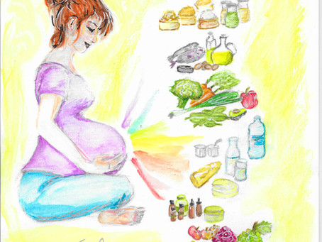 Être en forme et augmenter son immunité de femme enceinte.