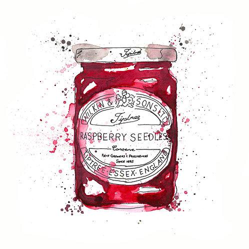 Tiptree Raspberry Seedless Jam