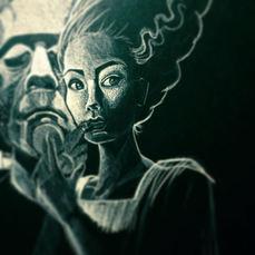 Illustration Series - Classic Horror