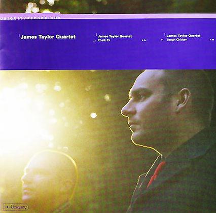 """James Taylor Quartet  - Chalk Pit/Tough Chicken 7"""""""