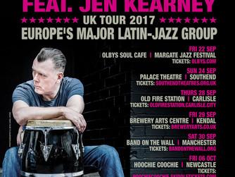 Snowboy & The Latin Section Feat. Jen Kearney - UK Tour 2017