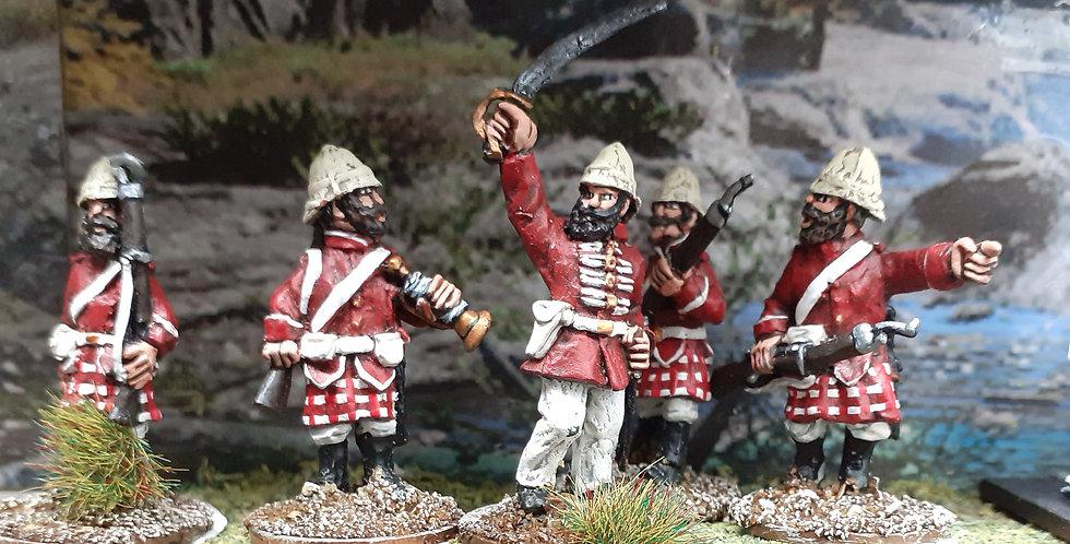 NWF 17 Afghan Highland Guard Command