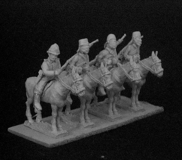 GC05 Mounted Askari Command on Mules.